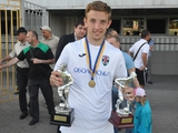 Воспитанник киевского «Динамо» признан лучшим игроком первой лиги