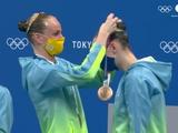 #Olympics #Tokyo2020 Бронза від наших дівчат у синхронному плаванні !