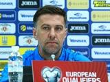 Пресс-конференция. Младен Крстаич: «Стартовый состав на матч с Украиной определил еще неделю назад»