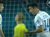 Де Пена не позволил Шапаренко пробить пенальти в матче с «Зарей» (ФОТО)