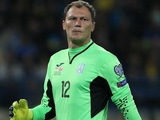 Андрей Пятов — лучший игрок матча Португалия — Украина