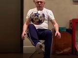 Игорь Суркис поразил техникой работы с мячом и поздравил с Пасхой (ВИДЕО)