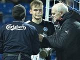 Максим Коваль получил травму лица в последнем матче за «Оденсе» (ФОТО)