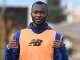 Ибрагим Каргбо уже работает с мячом (ВИДЕО)