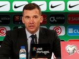 Португалия — Украина — 0:0. Послематчевая пресс-конференция (ВИДЕО)
