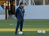 ВИДЕО: Во время тренировки сборной Украины Шовковский снова стал в ворота