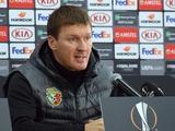 Василий Сачко: «К матчу с «Арсеналом» готовились на на искусственном газоне»