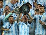 Сборная Аргентины — обладатель Кубка Америки