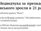 Як при Зеленському Медведчук став мільярдером.