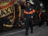 «Шахтер» на выездной матч с «Ворсклой» добирался на автобусе