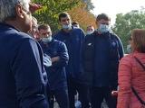 «Динамо» прогулялось по центру Будапешта с экскурсоводом (ФОТО)