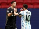 Месси: «Эмилиано Мартинес — один из лучших вратарей мира»