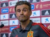 Луис Энрике: «Не хочу, чтобы у Шевченко была дополнительная информация о моей команде»