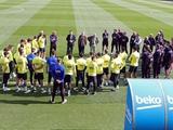 «Барселона» отменила тренировки из-за коронавируса