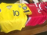 Украина сыграет с Люксембургом в желтой форме