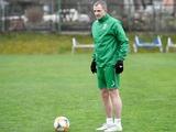 Александр Кучер вернулся к тренировкам после перелома
