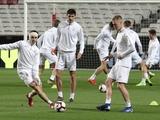 Тренировка сборной Украины в Лиссабоне: ФОТОрепортаж, ВИДЕО