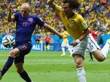 Бразилия — Нидерланды. Видео голов