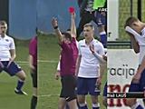 Футболист «Хайдука» был удалён с поля за жест в стиле Роналду (ВИДЕО)
