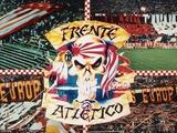 «Атлетико» запретил использование символики фанатской группировки