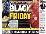 Главред Corriere dello Sport: «Что расистского в этом заголовке? Я счастлив, что выбрал его»