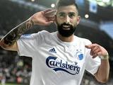 УЕФА на три матча дисквалифицировала игрока «Копенгагена» за толчок полицейского во время празднования гола