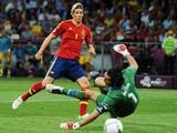 Результативность Евро-2012 стала самой низкой с 1996 года