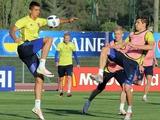ФОТОрепортаж: первая тренировка сборной Украины во Франции (56 фото)