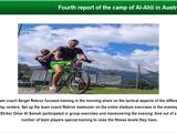 Второй день тренировок в Аль-Ахли под руководством Сергея Реброва: три заметки с клубного сайта
