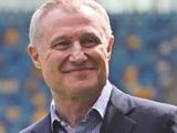Поздравление Григорию Суркису от Игоря Суркиса, Мирчи Луческу и Сергея Сидорчука