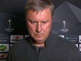 Александр Хацкевич: «Отыграть три мяча у «Челси» тяжело, но мы будем бороться до конца»
