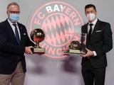 Левандовски получил приз лучшему игроку года по версии Tuttosport