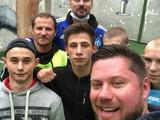 Милевский и Алиев посетили Лукьяновский СИЗО и сыграли там в футбол с несовершеннолетними заключенными (ФОТО, ВИДЕО)