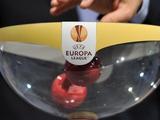 Результаты жеребьевки заключительных стадий плей-офф Лиги Европы