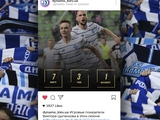 Как бы могли выглядеть страницы «Динамо Киев от Шурика» в социальных сетях Instagram/Telegram?
