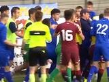 Матч «Динамо U-17» — «Торино U-17» завершился массовой дракой футболистов (ВИДЕО)