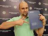 Константин Андриюк побывал на допросе в полиции в связи со своими публикациями о коррупции в украинском судействе (ФОТО)