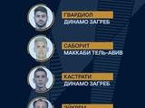 В команду недели в Лиге Европы попал наш Евгений Чеберко