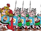 «Легион» с картонными мечами