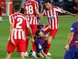 «Атлетико» больше десяти лет не может победить «Барселону» в примере