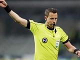 Стал известен арбитр матча Лиги наций между сборными Украины и Швейцарии