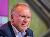 Карл-Хайнц Румменигге: «Флик снова вывел «Баварию» на топ-уровень»