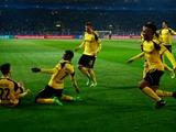 «Боруссия» Д  — «Бенфика» — 4:0. Обзор матча. «Шмели» не оставили живого места на лиссабонских «орлах»