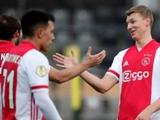 «Аякс» победил в чемпионате Нидерландов со счетом 13:0