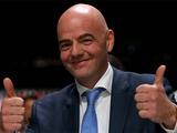 Президент ФИФА поздравил юношескую сборную Украины с победой на чемпионате мира U-20
