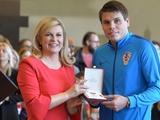 Огнен Вукоевич получил одну из высших наград Хорватии (ФОТО)