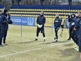 Сборная Украины провела первую тренировку. Без Ярмоленко (ФОТО, ВИДЕО)