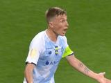 Сидорчук и Пятов чуть не подрались в перерыве матча за Суперкубок Украины: подробности