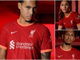 «Ливерпуль» представил домашнюю форму на следующий сезон (ФОТО)