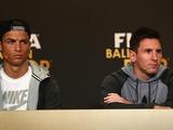 Криштиану Роналду: «Месси раздражали победы «Реала» в Лиге чемпионов, а меня — его трофеи»